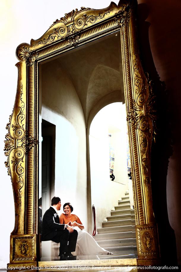 Foto Spontanea Degli Sposi