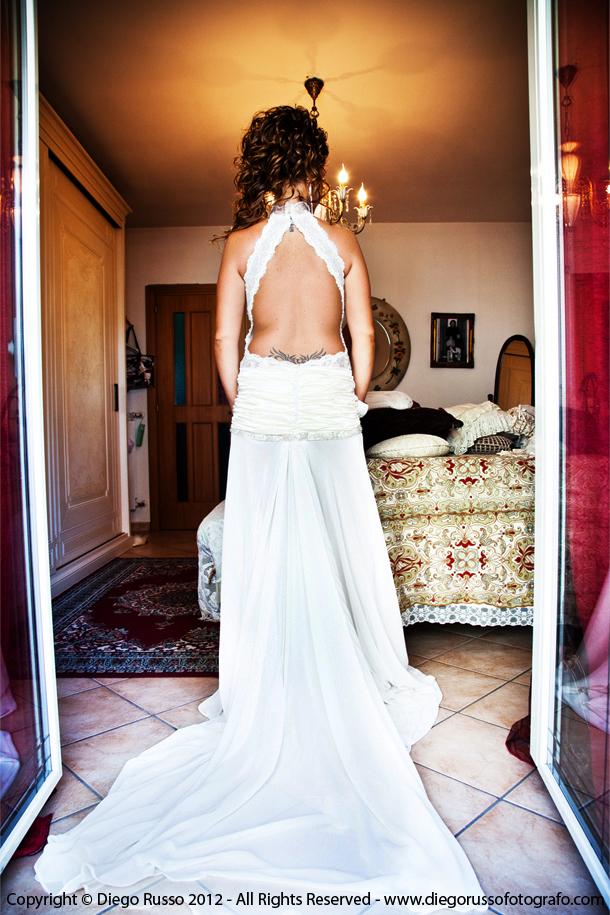 Preferenza Abito sposa scollato dietro – Abito sposa scollatura sulla schiena  QV51