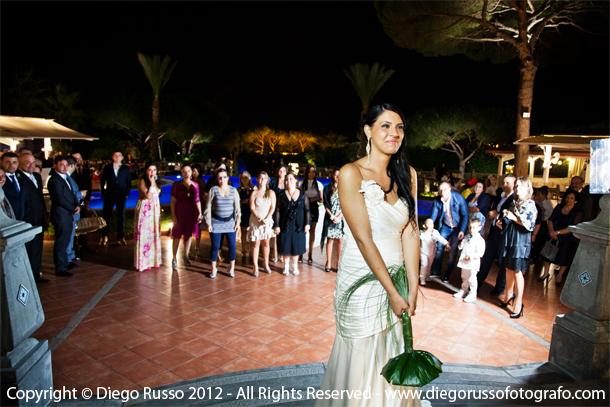 Lancio Del Bouquet Sposa