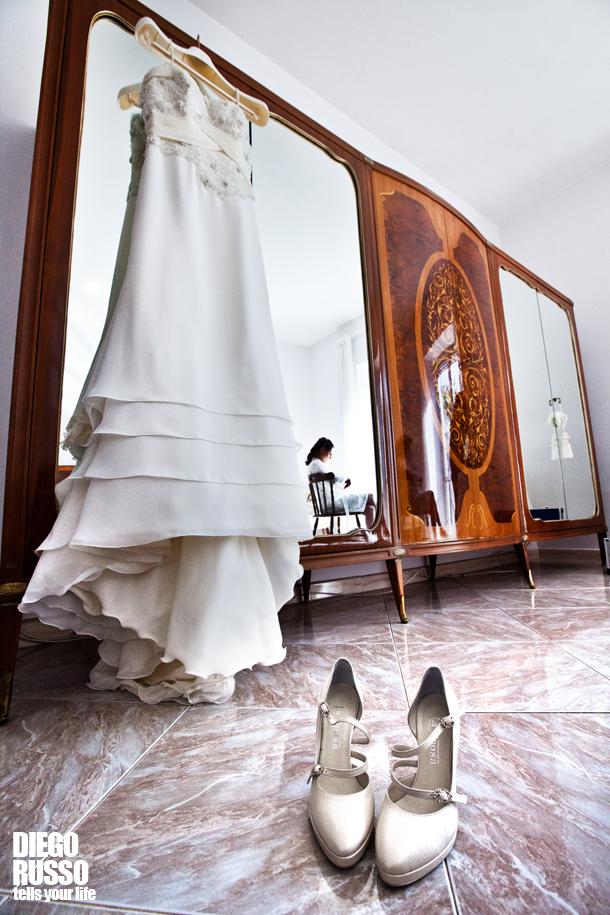 bellezza scarpe classiche qualità eccellente Preparazione sposa – Abito da sposa – Scarpe con il tacco ...