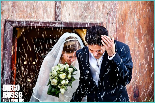 Lancio Del Riso Agli Sposi - Riso Matrimonio Che Non Macchia