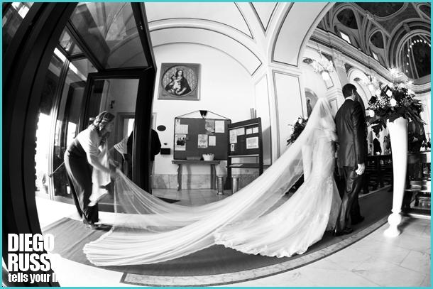 Corteo D'Entrata Sposa - Velo In Tulle Sposa