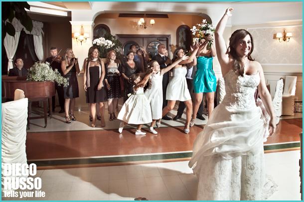Lancio Del Bouquet - Tradizioni Matrimoniali
