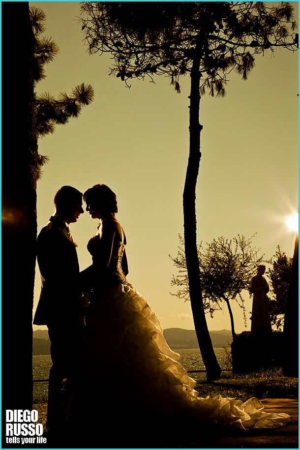 Silhouette Sposi - Sposi Al Tramonto