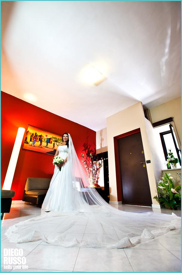 Velo Lungo Sposa - Velo Sposa Pizzo Chantilly