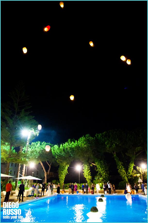 Lancio Delle Lanterne Volanti - Esterni Hotel Cecere A Peastum