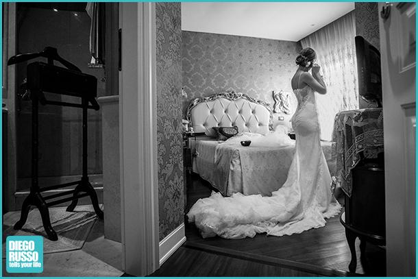 Foto Preparativi Sposa - Foto Preparativi - Foto Sposa - Foto Bianco E Nero - Foto Vestito Sposa