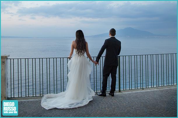 Foto Sposi - Foto Panoramiche - Foto Nozze Con Panorama - Foto Sposi Napoli - Foto Matrimonio Napoli