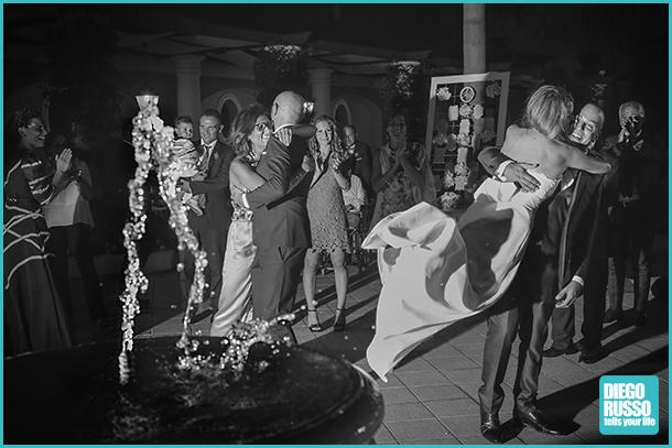 foto spontanee - foto bianco e nero - foto matrimonio - foto spontanee al matrimonio - foto sposi
