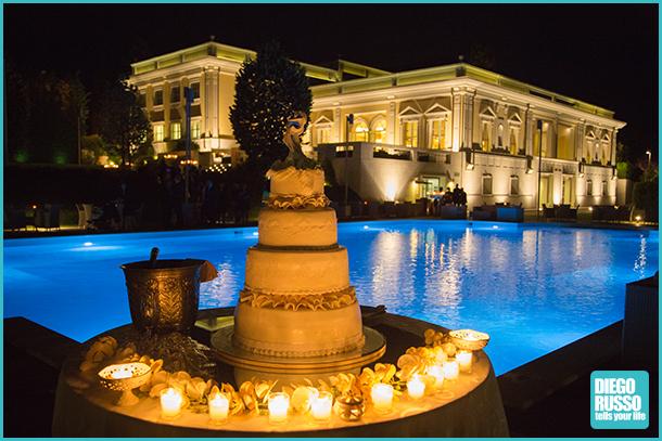 Foto torta foto wedding cake foto della torta a bordo for Piani del padiglione della piscina