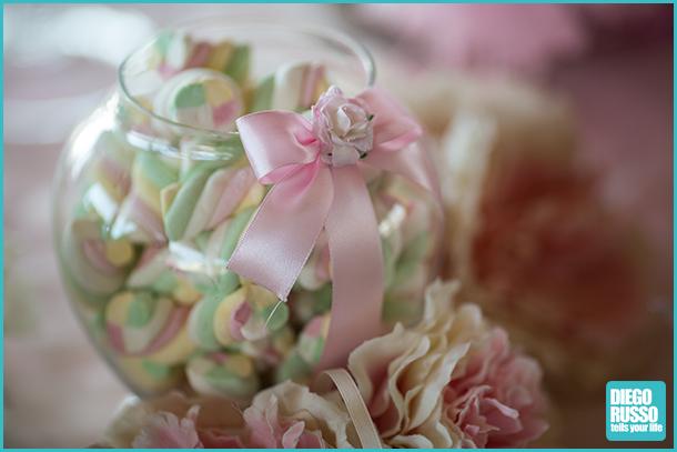 foto dei dettagli al matrimonio - foto alle nozze - foto tavolo dei dolci al matrimonio