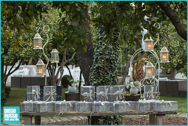 foto delle bomboniere al matrimonio - foto del tavolo delle bomboniere - foto dei dettagli al matrimonio - foto al matrimonio - foto delle nozze
