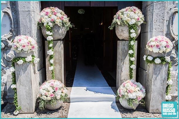 Matrimonio Rustico Chiesa : Addobbi matrimonio chiesa velo da sposa nebbiolina