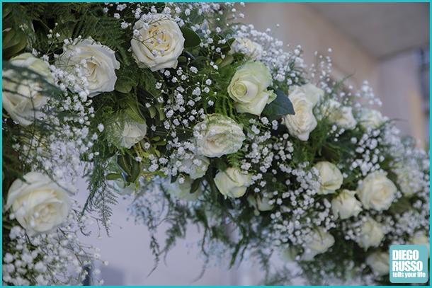 Foto decorazioni con rose bianche diego russo studio fotografico - Decorazioni bianche ...