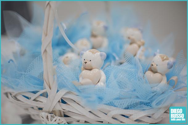 foto bomboniera orsetti - foto cestino per bomboniere con orsetti - foto bomboniera battesimo orsetti