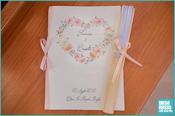 foto ventaglio chiesa - foto libro e ventaglio matrimonio - foto dettagli chiesa matrimonio
