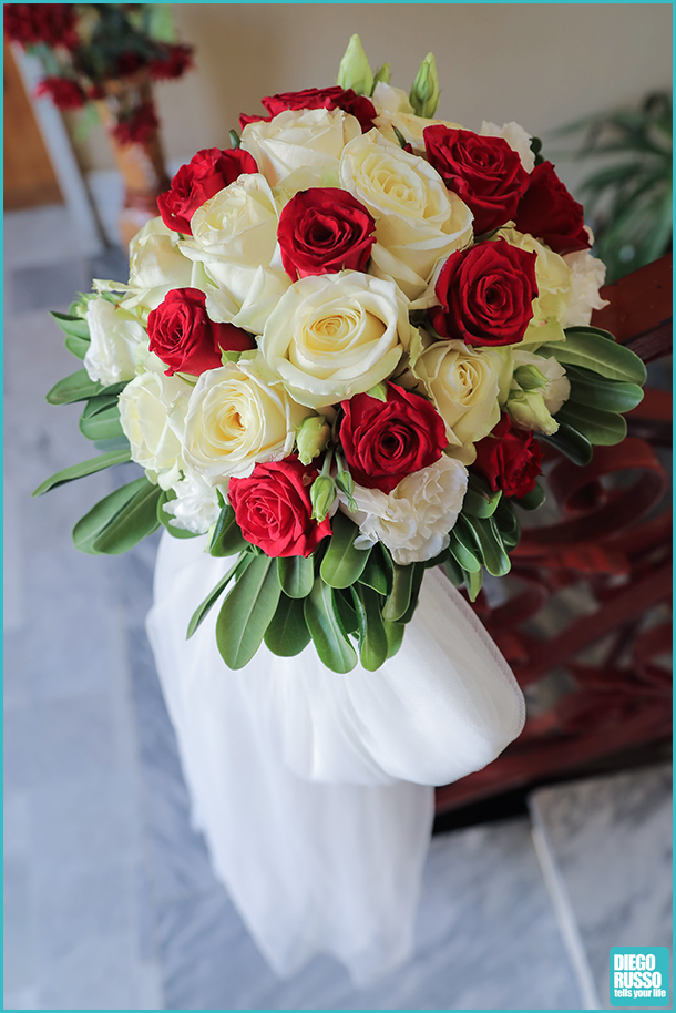 Bouquet Sposa Rose Rosse E Bianche.Foto Rose Rosse E Bianche Wedding Diego Russo News