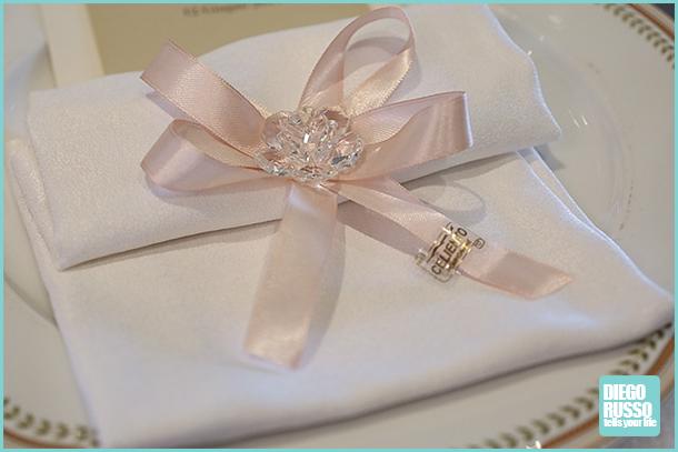 Segnaposto Matrimonio Rosa Cipria.Foto Segnaposto Matrimonio Diego Russo News