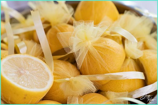 foto tema limone - foto tema limone per matrimonio - foto segnaposto tema limone